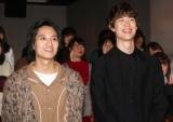 映画『his』のトークイベントに登壇した(左から)藤原季節、宮沢氷魚 (C)ORICON NewS inc.