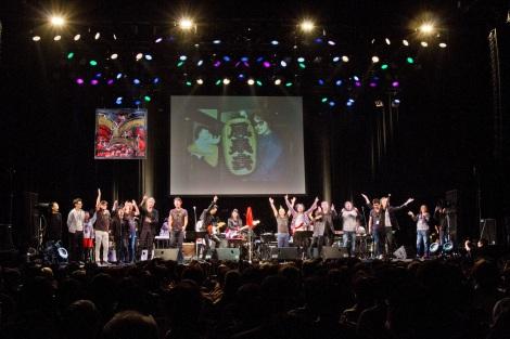 原田芳雄さん追悼Birthday Liveの開催が決定(写真は2016年のライブの模様)