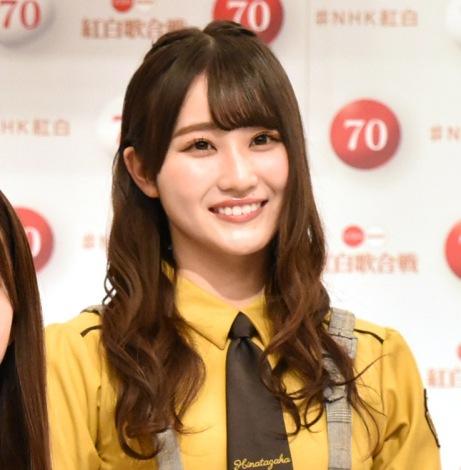 『第70回NHK紅白歌合戦』への出場が決定した日向坂46・潮紗理菜 (C)ORICON NewS inc.