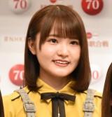 『第70回NHK紅白歌合戦』に初出場する日向坂46・高瀬愛奈 (C)ORICON NewS inc.