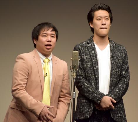 お笑いライブ『タイタンライブ』10月公演に出演した霜降り明星(左から) せいや、粗品(C)ORICON NewS inc.