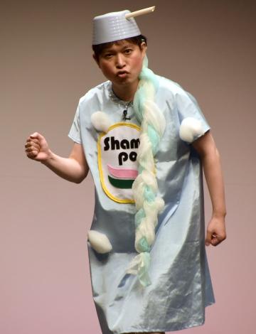 お笑いライブ『タイタンライブ』10月公演に出演した脳みそ夫 (C)ORICON NewS inc.
