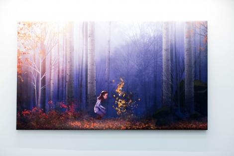 ウォルト・ディズニー・スタジオも『アナと雪の女王2』に合わせて秋の世界に一変 (C)2019 Disney. All Rights Reserved.KaoriSuzuki
