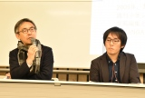 『IMART 国際マンガ・アニメ祭 REIWA TOSHIMA』に出席した(左から)伊東敦氏、籾山悠太氏 (C)ORICON NewS inc.