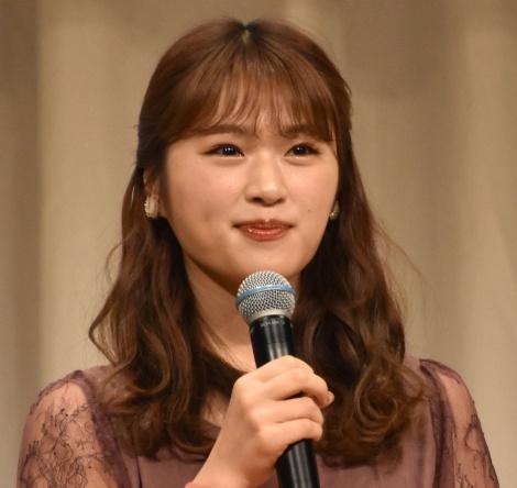 オーディション『美笑女グランプリ』MCアシスタントを務めた渋谷凪咲 (C)ORICON NewS inc.