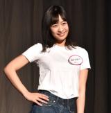 オーディション『美笑女グランプリ』審査員特別賞の岡村佳恵さん (C)ORICON NewS inc.