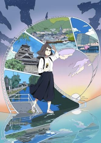 オール熊本アニメ『なつなぐ!』キービジュアル