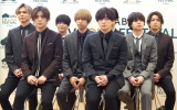 『ABUテレビ ソング フェスティバル in TOKYO』の会見に出席したHey! Say! JUMP (C)ORICON NewS inc.