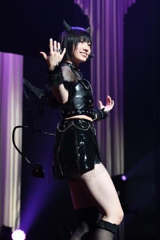 初のソロコンサートでファン念願の「わるきー」を披露した太田夢莉(C)NMB48
