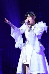 目標だったソロコンサートを開催した太田夢莉(17日=東京国際フォーラム ホールC)(C)NMB48