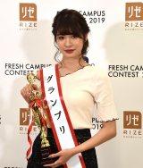 『FRESH CAMPUS CONTEST2019』グランプリに輝いた中川紅葉さん (C)ORICON NewS inc.