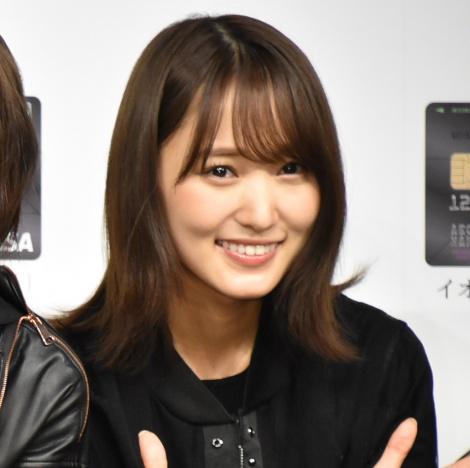 『イオンカード(欅坂46)』誕生記念イベントに登壇した菅井友香 (C)ORICON NewS inc.