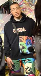 『少年クロニクル POP-UP STORE』の発表会に出席したGENERATIONS from EXILE TRIBE・関口メンディー (C)ORICON NewS inc.