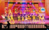 『ABUテレビソングフェスティバル in TOKYO』に参加したFoorinとFoorin team E。10人で英語版「Paprika」初披露(photo by 山谷佑介)
