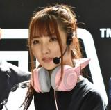 『価格.com GG Shibuya Mobile esports cafe&bar』のオープニングイベントに登壇した水沢柚乃