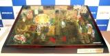 お披露目された時価総額1億5000万円相当の『純金製人生ゲーム』オブジェ (C)ORICON NewS inc.