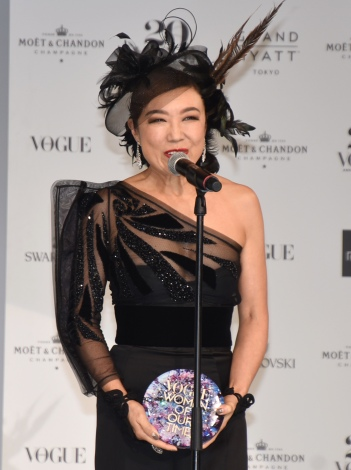 『VOGUE JAPAN WOMEN OF OUR TIME』を受賞した松任谷由実 (C)ORICON NewS inc.