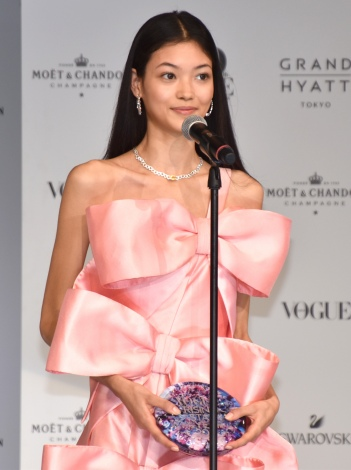 『VOGUE JAPAN RISING STAR OF THE YEAR 2019』を受賞した美佳 (C)ORICON NewS inc.