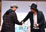 書籍『さよなら、ヒット曲』の出版記念トークショー&サイン会に登壇した(左から)TEE、今井了介 (C)ORICON NewS inc.