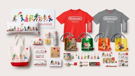 「Nintendo TOKYO」で販売されるグッズ(C)Nintendo