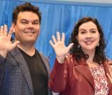 ディズニー映画最新作『アナと雪の女王2』のスペシャルイベントに出席した(左から)ロバート・ロペス、クリステン・アンダーソン=ロペス (C)ORICON NewS inc.