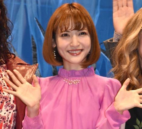 ディズニー映画最新作『アナと雪の女王2』のスペシャルイベントに出席した神田沙也加 (C)ORICON NewS inc.