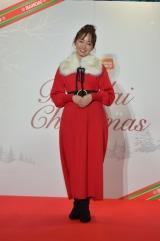 『バンダイ クリスマスセレモニー』にゲストとして参加した今泉佑唯