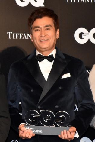 『GQ MEN OF THE YEAR 2019』で『テレビ・パーソナリティー・オブ・ザ・イヤー』を受賞した石原良純 (C)ORICON NewS inc.