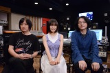 (左から)小林武史氏、森七菜、岩井俊二監督