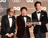 『GQ MEN OF THE YEAR 2019』で『コメディ・オブ・ザ・イヤー』を受賞した霜降り明星 (C)ORICON NewS inc.