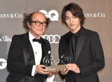『GQ MEN OF THE YEAR 2019』で『ニュージェネレーション・アクター・オブ・ザ・イヤー』を受賞した横浜流星 (C)ORICON NewS inc.
