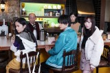『ニッポンノワール』の第7話に「3年A組」キャスト(左から)堀田真由、神尾楓珠、福原遥が出演(C)日本テレビ