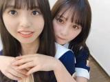 齋藤飛鳥(左)&与田祐希の