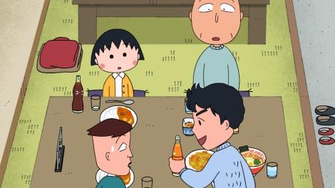 『ちびまる子ちゃん』12月8日放送分場面カット(C)さくらプロダクション/日本アニメーション
