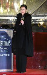 『クリスマスマーケット』のオープニングセレモニーに出席した長谷川京子 (C)ORICON NewS inc.