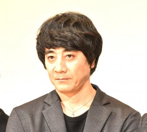 映画『影踏み』大ヒット御礼舞台あいさつに登壇した山崎まさよし (C)ORICON NewS inc.
