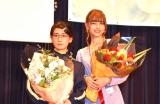 読者参加型アイドル発掘プロジェクト『ミスiD 2020』(左から)ハムスターの息子に産まれて良かった。、嵐莉菜 (C)ORICON NewS inc.