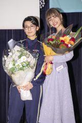 読者参加型アイドル発掘プロジェクト『ミスiD 2020』(左から)ハムスターの息子に産まれて良かった。、嵐莉菜