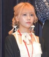 読者参加型アイドル発掘プロジェクト『ミスiD 2020』発表イベントに出席した川後陽菜 (C)ORICON NewS inc.