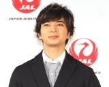 JALの新特別塗装機「20th ARASHI THANKS JET」のお披露目に参加した嵐・松本潤 (C)ORICON NewS inc.