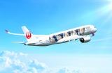 お披露目されたJALの新特別塗装機「20th ARASHI THANKS JET」