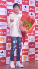 『第32回ジュノン・スーパーボーイ・コンテスト グランプリ』のグランプリに輝いた渡邉多緒さん (C)ORICON NewS inc.
