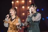 「信友」という谷川愛梨と涙ながらに「友達」を披露(C)NMB48