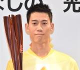 松岡修造へ熱い思いを語った錦織圭選手=『LIXIL 東京 2020 パラリンピック聖火ランナー募集』記者発表会 (C)ORICON NewS inc.