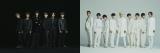 『ベストアーティスト2019』でデビュー曲を初披露するSixTONES(左)とSnow Man