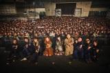 1stフルアルバム『ジェニーハイストーリー』リリース記念フリーライブを開催したジェニーハイ 撮影/井出康郎