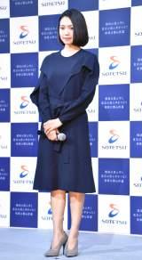 相鉄都心直通記念ムービー『100 YEARS TRAIN』公開イベントに出席した二階堂ふみ (C)ORICON NewS inc.