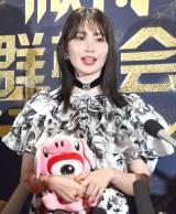 『WEIBO Account Festival in Japan 2019』に出席した小嶋陽菜 (C)ORICON NewS inc.