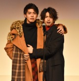 映画『午前0時、キスしに来てよ』の「ドキドキドリームNIGHTイベント」に出席した(左から)片寄涼太、鈴木勝大 (C)ORICON NewS inc.