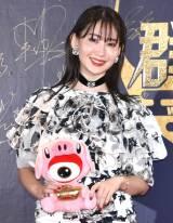 『WEIBO Account Festival in Japan 2019』のレッドカーペットに登場した小嶋陽菜 (C)ORICON NewS inc.